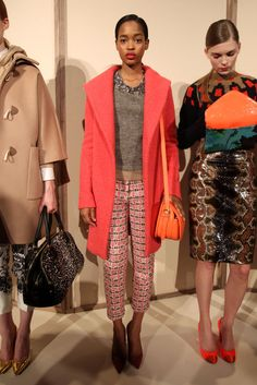 JCrew Runway Fall 2012 - i really want that pink jacket.