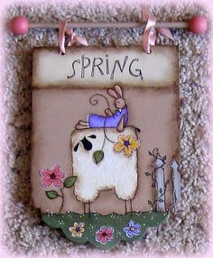 E PATTERN  4 Seasons Sheep  Designed by Terrye French  by skb007, $5.00