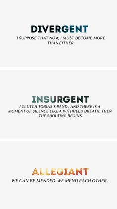 divergent in a sentence