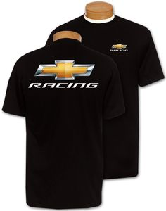 Chevy New Bowtie Racing T-Shirt-Chevy Mall