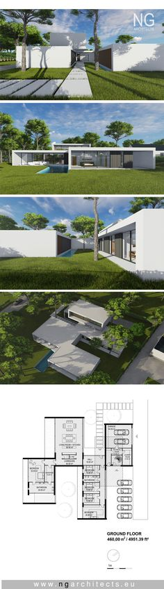 Modern villa Breeze designed by NG architects www.ngarchitects.eu