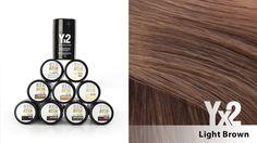 Yx2-hiustuuhennetta on saatavana 9 eri värisävyä, kuten tämä monelle suomalaiselle ominainen Light Brown -sävy. Voit käyttää myös eri sävy-yhdistelmiä, jolloin löydät tarvittaessa juuri oikean sävyn. Yx2-tuotteet löydät: www.yx2.fi/kauppa #yx2 #hiustuuhenne #sävy #color #lightbrown #vaaleanruskea