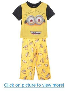 Despicable Me 2 Mr. Minion 2-Piece Pajamas #Despicable #Mr. #Minion #2_Piece #Pajamas