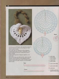 Grace y todo en Crochet: Flowers and leaves diagrams to decorateyour gifts ...