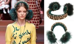 Dolce & Gabbana markets $8,000 fur- and jewel-encrusted headphones