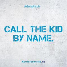 Postkarte A6 +++ DENGLISCH von modern times +++ DA STEHEN ...