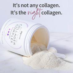 Shareable: It's not any collagen. It's the right collagen. Plexus Pink Drink, Plexus Ambassador, Plexus Slim, Pink Drinks, Ads Creative, Hair Skin Nails, Gut Health, Healthy Skin, Healthy Life
