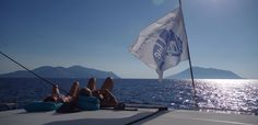 Sailing and Relaxing in the Aeolian Islands, Sicily, Italy with Il Miglio Blue