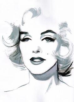 Marilyn Monroe by Fernando Vicente