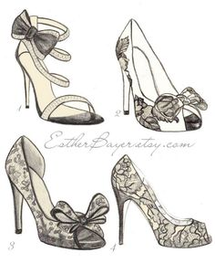 Shoe Illustration :: Esther Bayer