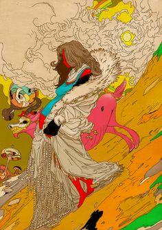 MOTHER Art Print by Kasi Minami   Society6