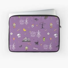 """""""Nothing is as Scary as What Lurks in your Past - The Cringe (CXG Inspired)"""" Laptop Sleeve by Ukulily 