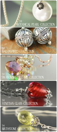 Jewelry collections by SouthPawOnline.com