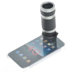 6xZoom Telescope Lens with Crystal Back Case for iPhone4,Cool gadgets,Cool gadgets for Ipad,Iphone,best gadgets,2012 gadgets,new gadgets,electronic gadgets