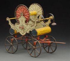 Lot:George Brown Hose Reel., Lot Number:253, Starting Bid:$1000, Auctioneer:Dan…