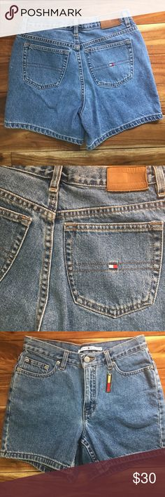 Tommy Hilfiger Jean shorts Worn once like new Tommy Hilfiger Shorts Jean Shorts