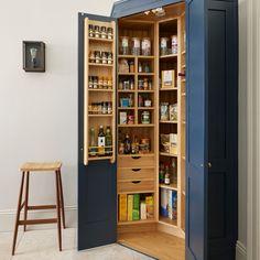 Images de décoration et idées déco de maisons corner pantrys