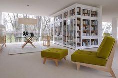 Daphne armchair & ottoman. design by MAAM