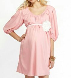 find this pin and more on maternity outfifs more of me pink baby shower dress