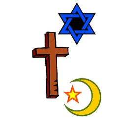 Islam, Christianity and Judaism all have the same beginning, creating a fundamental relationship. They share holy cities, parts of holy books and conflicts arise about their disagreement of ideas.