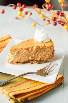 Creamy Pumpkin Cheesecake