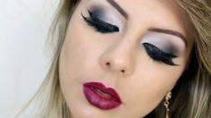Maquiagem Esfumada em Tons de Cinza