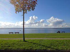 Meersburg am Bodensee Promenade/ Meersburg esplanade (Lake Constance)