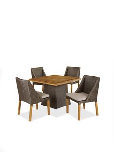 Teak Top Pyramid Dining Table by Jeffan on Gilt Home