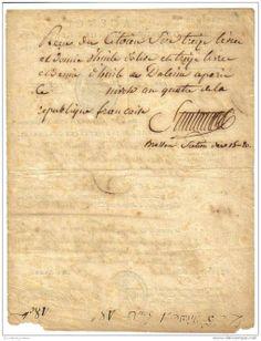 Antoine Joseph SANTERRE (1752-1802) - Personnalité Politique de la Révolution Française,