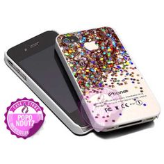 Glitter Apple colorfull  iPhone 4/4s/5/5s/5c Case  by popondutz, $15.00