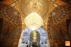 Inside the camps of Imam Hussein in Karbala, Iraq