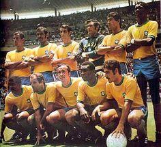 Seleção Brasileira responsável pelo terceiro título mundial de 1970  Foto: Divulgação