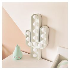 trendy lamp looks great anywhere in the house! This trendy lamp looks great anywhere in the house! My New Room, My Room, Girl Room, Cactus Lamp, Cactus Decor, Relaxation Room, Baby Boy Rooms, Bedroom Colors, Kids Decor