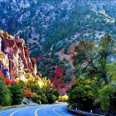 Canyon Road in Santa Fe, New Mexico.