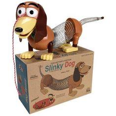 He easily get a wiener dog named Slinky