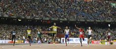 '@UsainBolt wins 200m in 19.55 seconds for golden sprint double at the world championships http://apne.ws/1LCWo0T