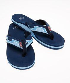 Flip Flops and Sandals: Whale Line Flip Flops – Vineyard Vines