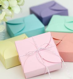 Easy DIY Petal Boxes   Damask Love