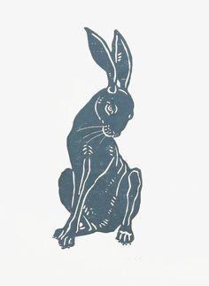 Hare woodcut By Jane Beharrell Art And Illustration, Rabbit Illustration, Coffee Illustration, Animal Illustrations, Botanical Illustration, Rabbit Tattoos, Rabbit Art, Rabbit Drawing, Bunny Art