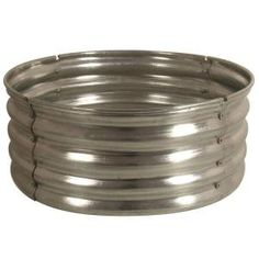 30 in. Galvanized Round Fire Pit Ring-DS-18727 at The Home Depot