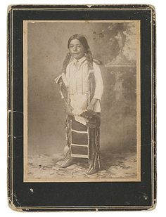 Comanche boy - no date