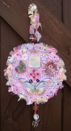 Altered CDs-pink | Flickr - Photo Sharing!