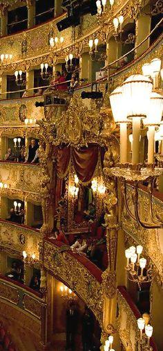 La Fenice Opera House ● Venice www. - La Fenice Opera House ● Venice www. Places Around The World, Oh The Places You'll Go, Places To Travel, Around The Worlds, Verona, Beautiful World, Beautiful Places, Romantic Places, Italy Travel