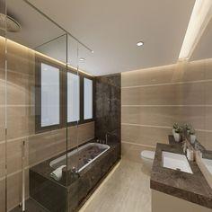 Terrasse Condominium Master Bathroom