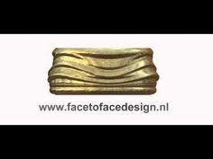 Face to Face Rings  Paul Steenbrink, 2015  Aan de hand van een scherpe profielfoto wordt een Face to Face Ring 3D-geprint van edelmetaal. De gezichtscontouren zijn herkenbaar in het reliëf van de ring.