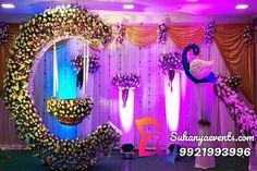 "Naming Ceremony Decoration or Cradle Ceremony Decoration planners, organizers, and decorators in Pune. Naming Ceremony is also known as ""Cradle"" and in Marathi ""Barse"" or ""Namkaran Sohala"".Sukanya Events have tremendous naming ceremony decorations. Naming Ceremony Decoration, Wedding Hall Decorations, Baby Shower Decorations, Flower Decorations, Marriage Decoration, Cradle Decoration, Naming Ceremony Invitation, Indian Baby Showers, Cradle Ceremony"