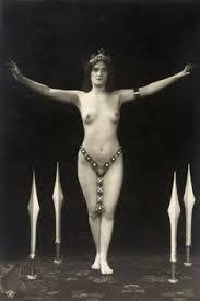 1900 exotic dancer