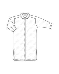 269 best sewing patterns images 60s patterns clothes coats 1950s Clothing hemdblusenkleid mit bindeband 03 2016 112b mode zum selbern hen im burda style onlineshop