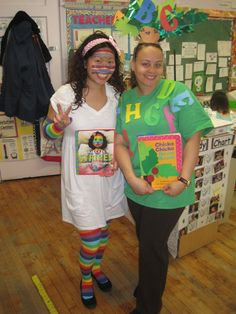 Primary Chalkboard: Thursday- Dress Like a Book Character