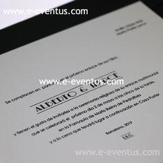 tarjeta boda clásica · tarjetón boda elegante · invitaciones boda eventus · invitaciones boda profesionales · tienda invitaciones boda · boda elegante barcelona